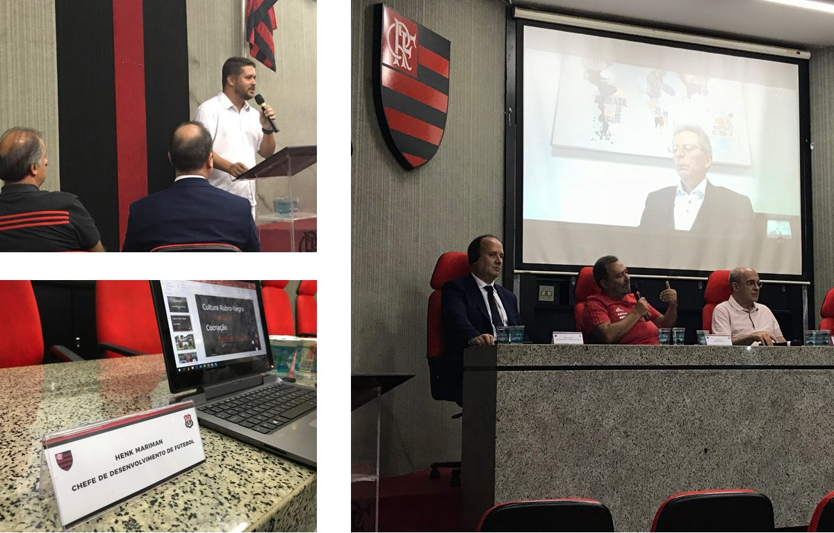 Press Conference Flamengo about the long-term partnership